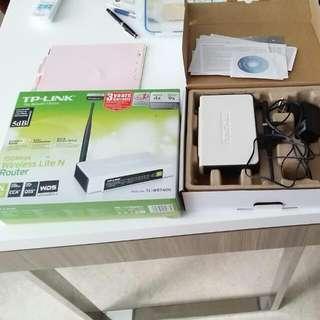 TPlink 150Mbps Wireless Lite N Router