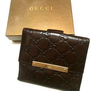 Gucci French Wallet