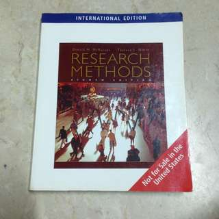 Research Methods HP1100