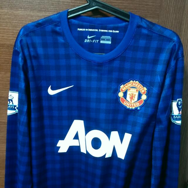 release date: 878d3 c6980 Authentic) Manchester United Goalkeeper 2nd Kit 12/13 De Gea ...