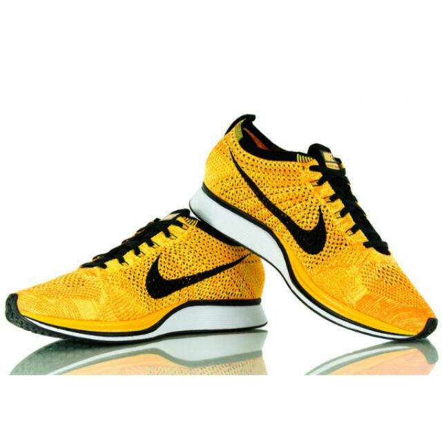 3b3373d5f4f2e Sale) Authentic  Nike Flyknit Racer Yellow