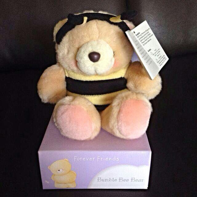 Forever friends bumble bee bear , Toys & Games on Carousell