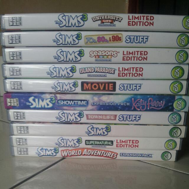 (RESERVED)Sims 3 Collection!