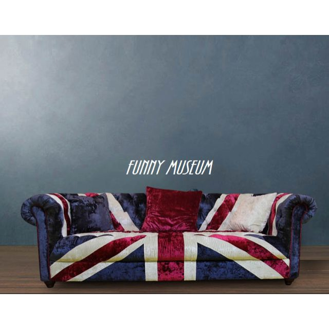 Model C Material Suede Fabric Union Jack British Flag Sofa Couch Furniture On Carou