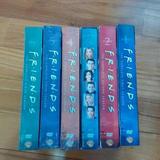 Friends Collector's DVD Set Complete Seasons 1 To 6