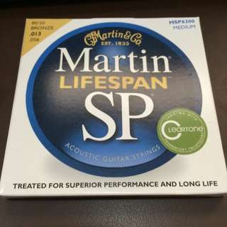 Martin Lifespan SP Guitar Strings 0.13 Gauge