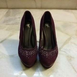 Purple DMK High Heels