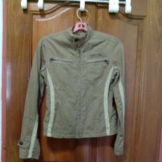 Authentic Abercrombie And Fitch Brown Jacket, Size S