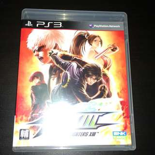 PS3 Video Game - The King Of Fighters Xlll