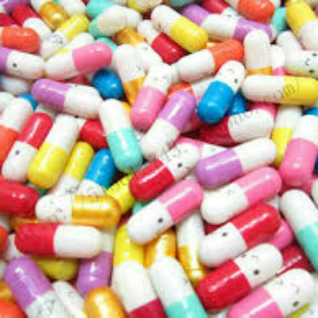 Christmas Happy Pills Instocks Design Craft On Carousell