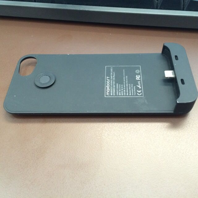 Maxboost iPhone Battery Case 2000mAh (better than Morphine!)