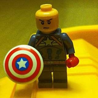 Lego Inspired Captain America
