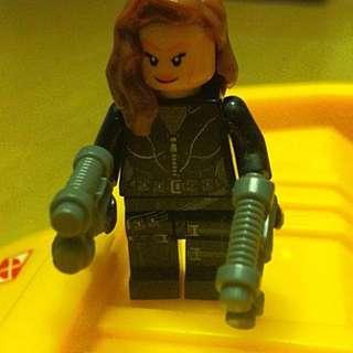 Lego Inspired Black Widow