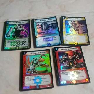 Old Duel Masters Cards