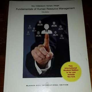Fundamentals of Human Resource Management Fifth Edition (Noe/Hollenbeck/Gerhart/Wright) PENDING