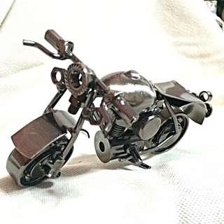 Motorbike Low Back Ornament