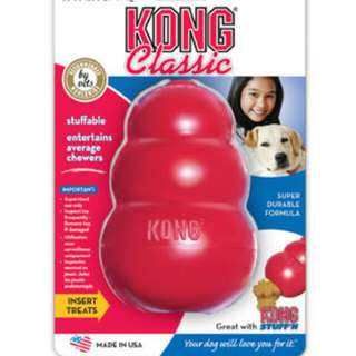 KONG Classic Dog Rubber Toy Size S