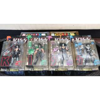 A Set Of 4 McFarlane's K.I.S.S Figures (Price Reduced)
