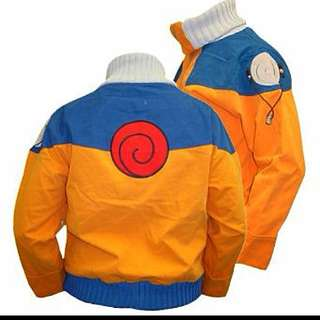 Authentic Naruto Jacket Cosplay