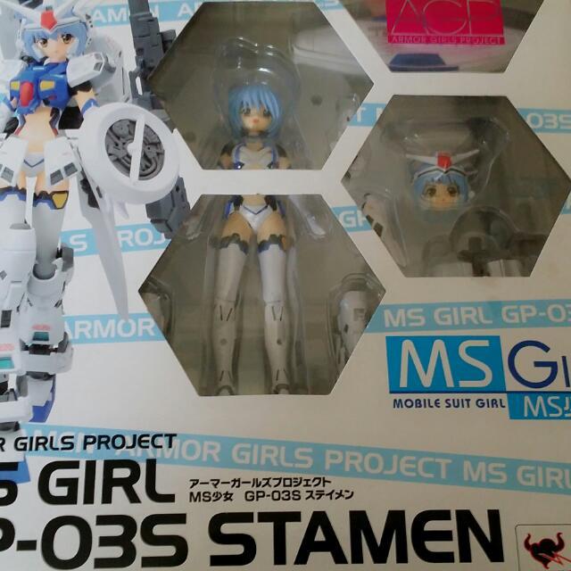 New Bandai Amor Girls Project MS Girl GP-03 Stamen