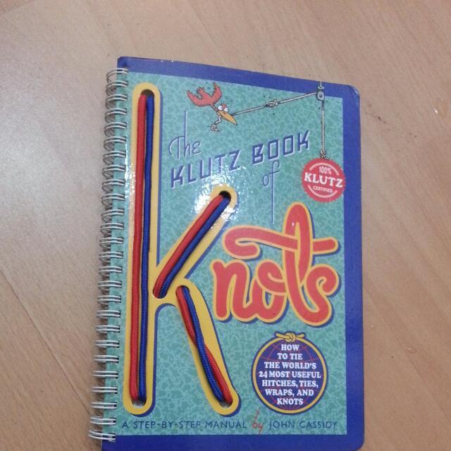 Knots Knotting Book