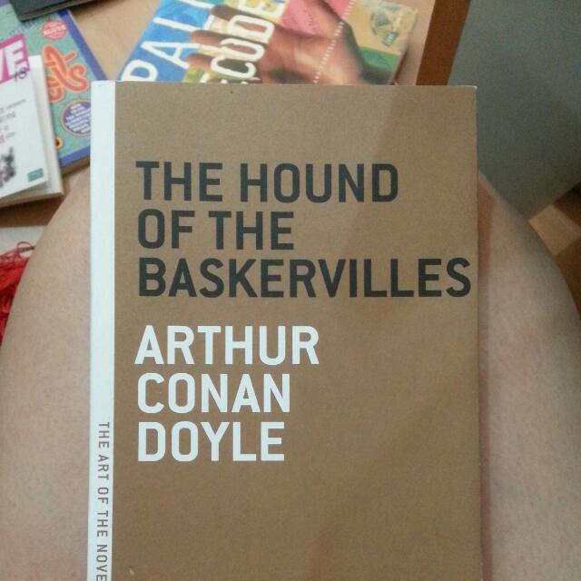 Sherlock Holmes Novel The Hound Of Baskerville