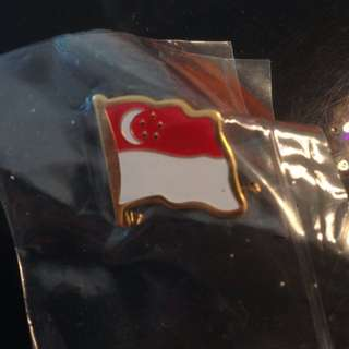 Singapore Badge/pin