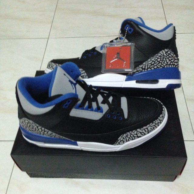 c270c5ac0b29 Air Jordan 3 Retro Sport Blue