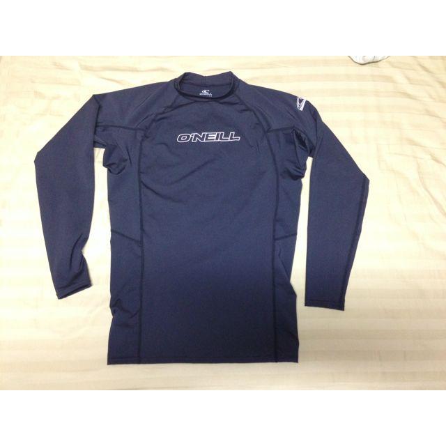 O'Neill UV Sun Protection Men's Basic Skins Long Sleeve Crew Rash guard, XX-large