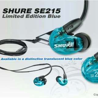 Shure SE215 Special Edition IEMs