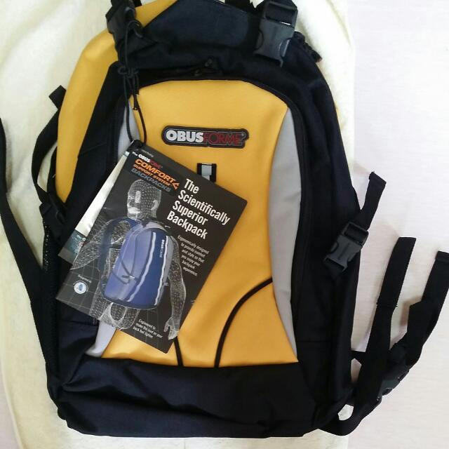 Authentic OBUS FORME backpack