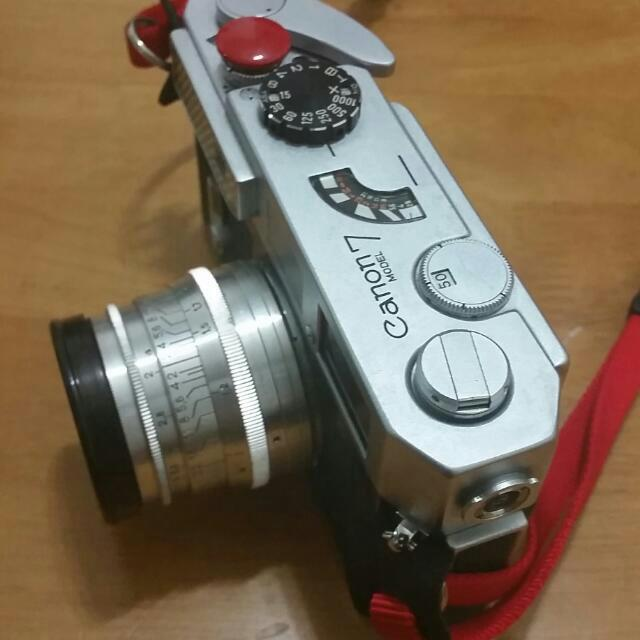 Canon 7 with Jupiter 8 (50mm F2), Photography on Carousell