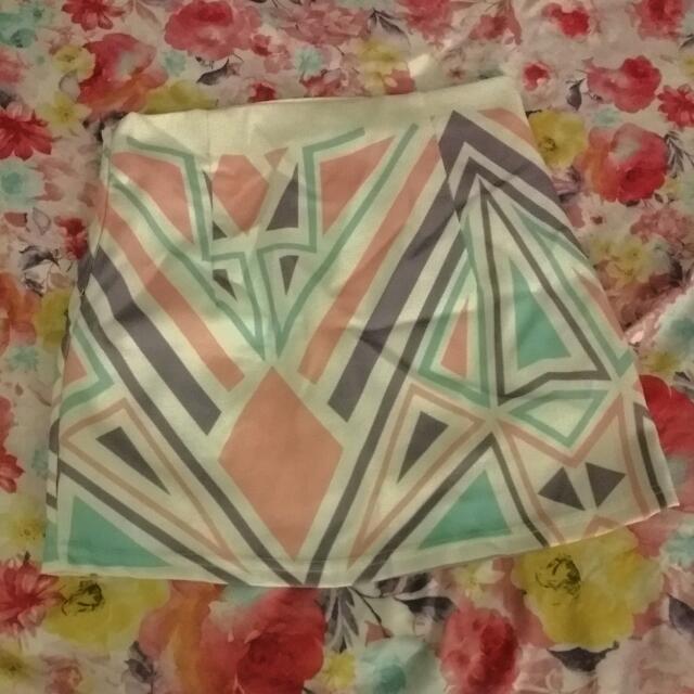 Kei&kori Geometric Skirt