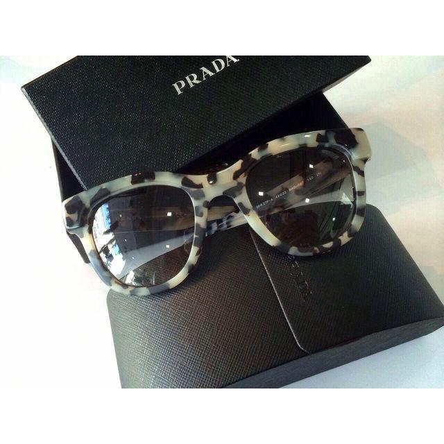 82e26020355 ... 50% off prada sunglasses brand new spr27p a kad 0a7 49 22 140 shiny w