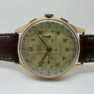 Titus Chronograph Swiss Made Vintage Watch