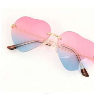 Heart Shape Sunglasses (INSTOCK)
