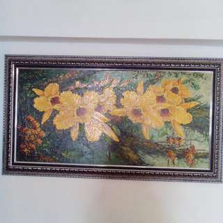 Oil Painting( Reduce $200) Vry Beautiful painting