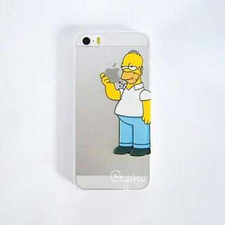 BN INSTOCK   iPhone 5/5S Homer Simpson Hard Cover