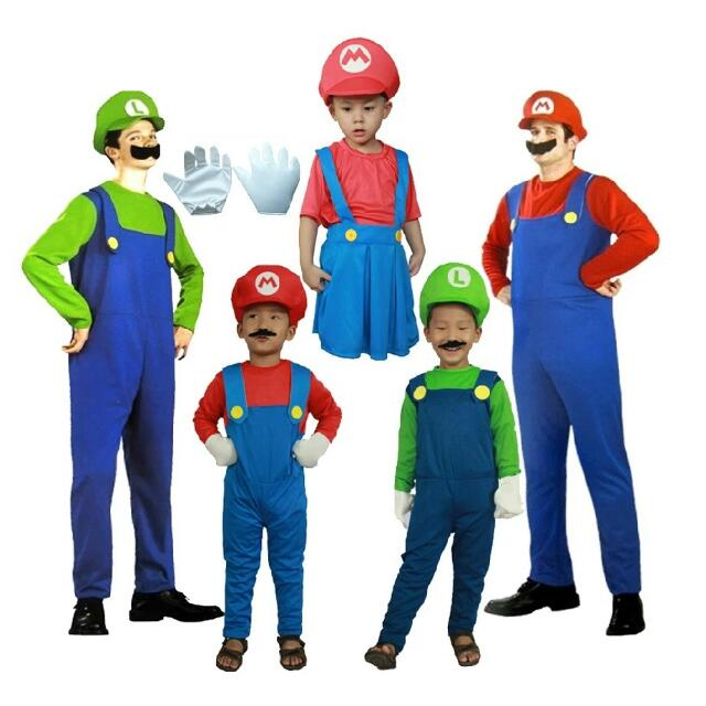 Halloween Super Mario Costume Party Cosplay (For Kids And Adult) Everything Else on Carousell  sc 1 st  Carousell & Halloween Super Mario Costume Party Cosplay (For Kids And Adult ...