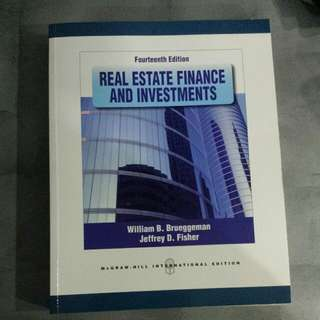NUS RE1101 Real Estate Finance And Investment