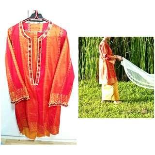 Preloved Baju Kurung Modern