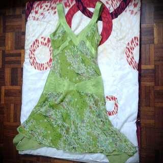 Mng Chiffon Dress
