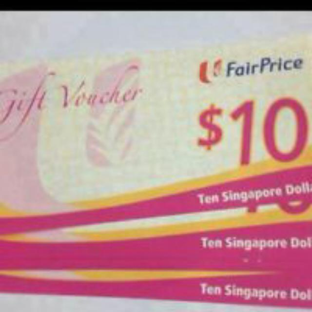 NTUC Vouchers Wanted