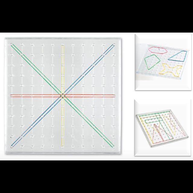 Learning Resources Overhead Geoboard 11 x 11 Pin