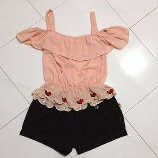 (SALE)Crop+Short