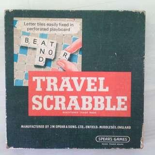 Scrabble Set. Rare Vintage And Complete