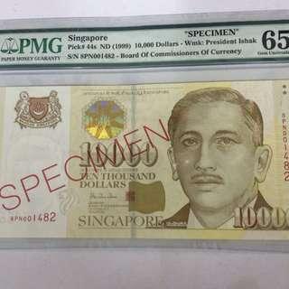 SPECIMEN  $10000