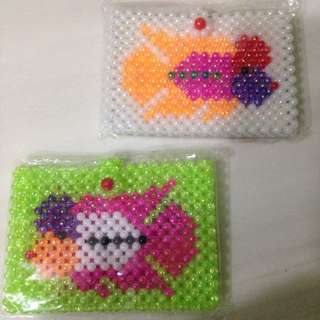 Luohan Fish (Cichlid Fish) Pattern Card Holder