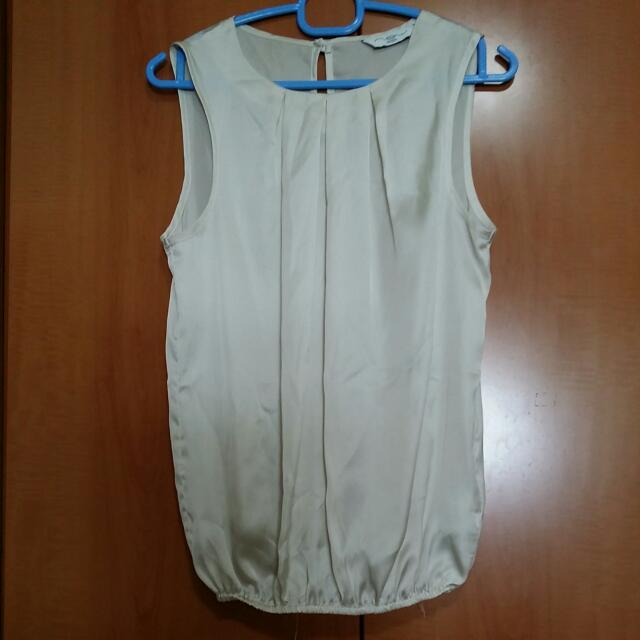 eaf49e89571bf4 New Look White Sleeveless Top