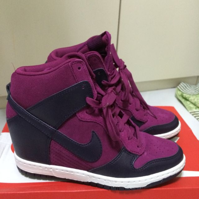 Nike Dunk Sky High Hidden Wedges Sneakers